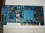 """Gigabyte GA-612, mit Intel i740.  Meine erste """"richtige"""" Grafikkarte, damals in Verbindung mit der Voodoo II gekauft."""