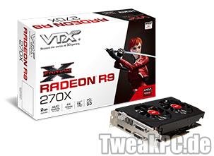 VTX3D X-Edition: R9 270X und R9 270 mit Custom-Design-Kühler vorgestellt