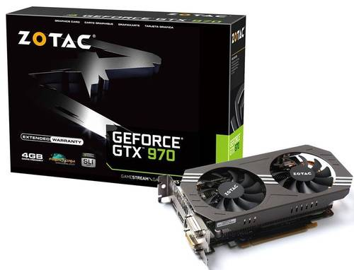 Zotac GeForce GTX 970 abgelichtet