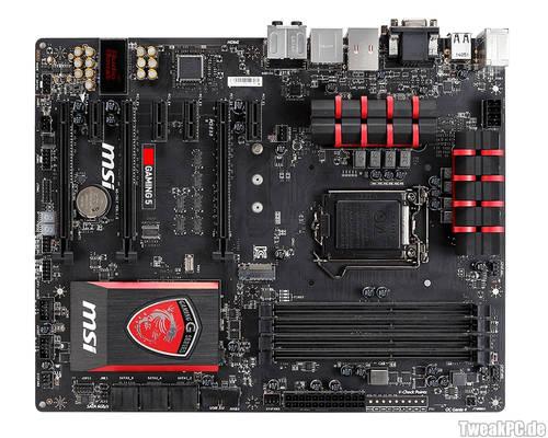 Bilder der neuen MSI Gaming 3, Gaming 5, Gaming 7, Gaming 9 AC und Gaming Mini ITX Mainboards
