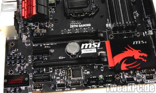 MSI Z87M Gaming - Neues MicroATX Sockel 1150 Gaming-Mainboard