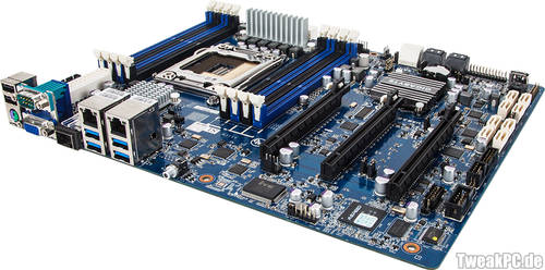 Gigabyte GA-6PXSVT: Mainboard mit 10-Gigabit-Ethernet-Anschluss
