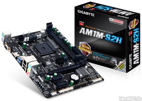 Gigabyte AM1M-S2H: Erstes AM1-Mainboard vorgestellt