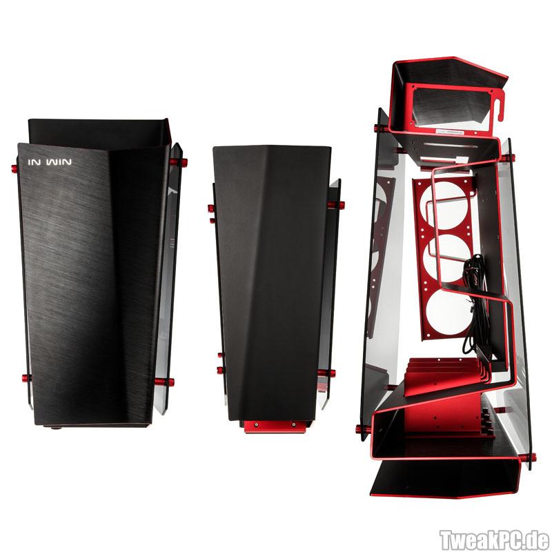 In Win S Frame Luxus Design Geh 228 Use F 252 R 800 Euro Nur
