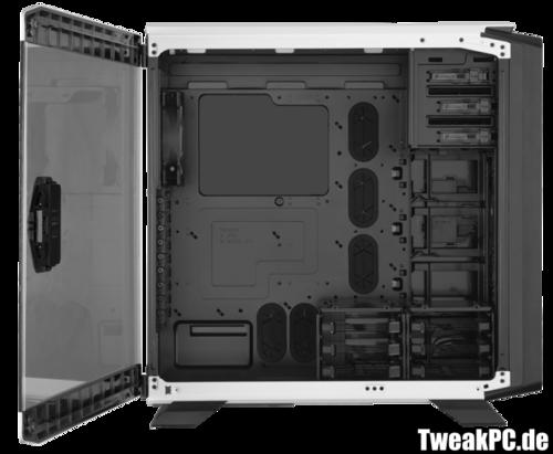 Corsair Graphite 760T: Seitenfenster statt Seitenwand