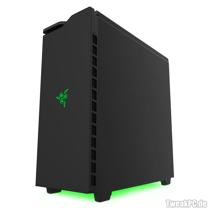 Nzxt h440 razer edition mid tower case review nzxt h440 razer - Nzxt H440 Review Pictures To Pin On Pinterest