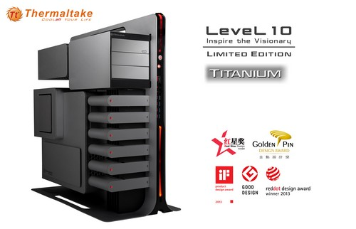 Bild: Thermaltake Level 10: Limitierte Titanium-Version angekündigt