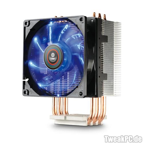 Enermax EST-N30: Kompakter CPU-Kühler für kleinere Systeme