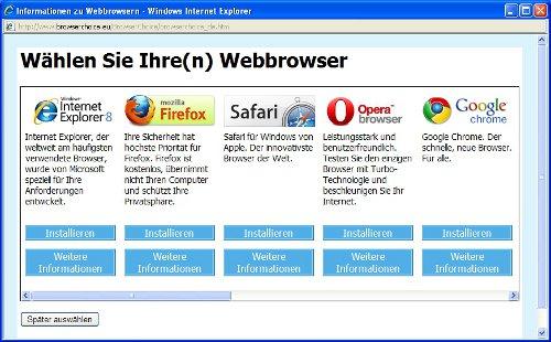 Browserwahl