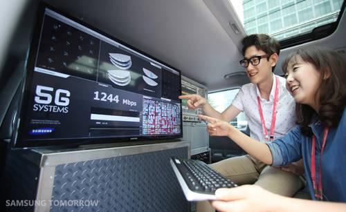 5G-Standard: Samsung überträgt Daten mit bis zu 7,5 Gbit/s