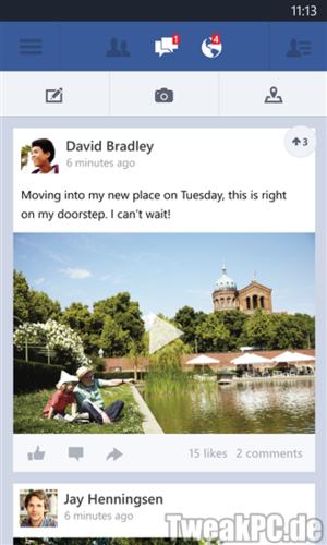 Facebook wächst rasant - Mobilzugang wird immer wichtiger