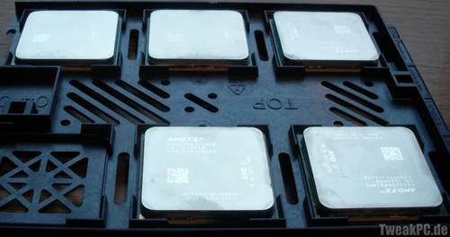 Die zur Verfügung gestellten CPUs
