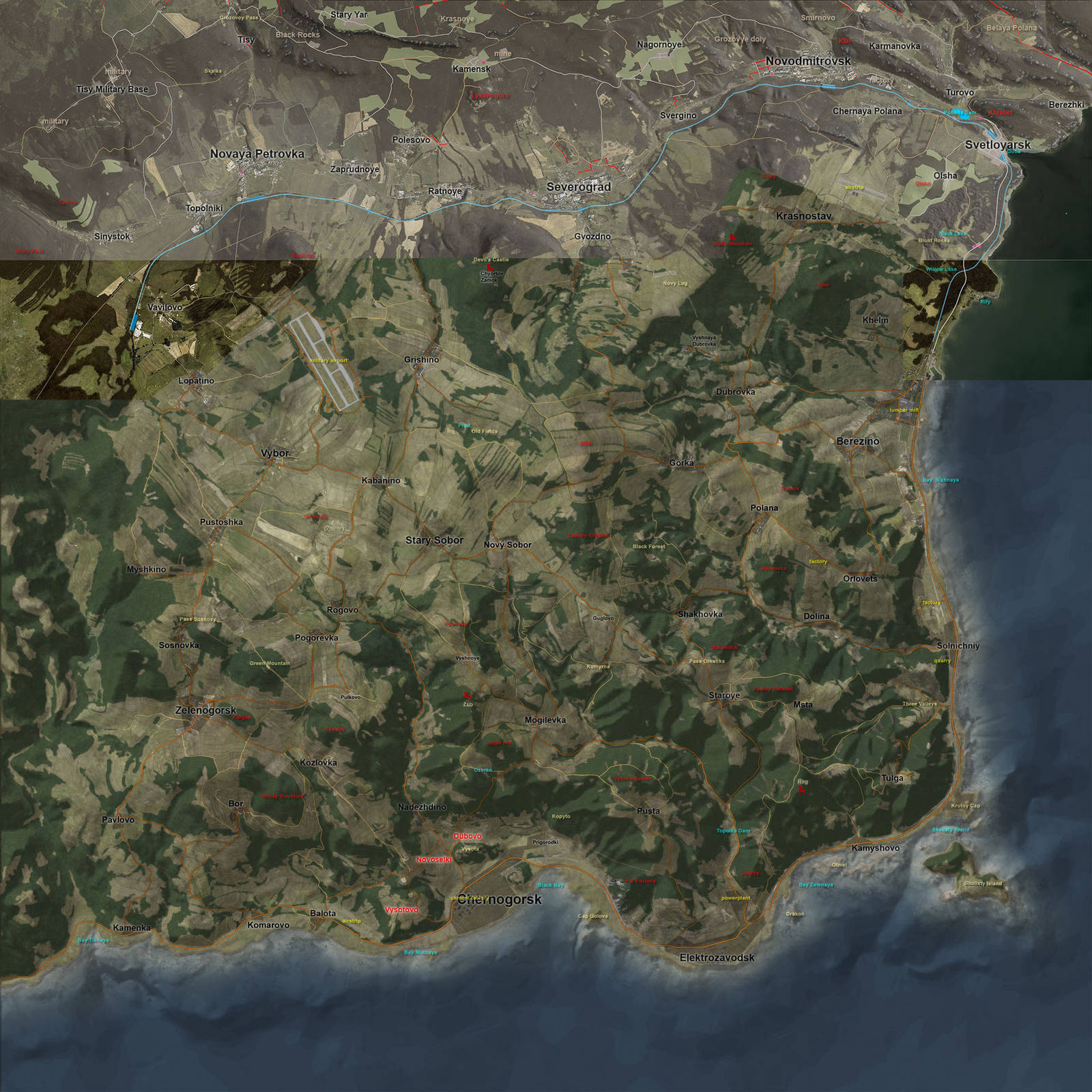 DayZ SA: Version 0.49 und Server-Wipe in Kürze - Neues zu den Map ...
