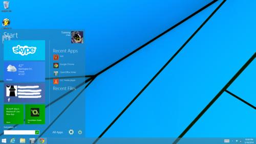 Windows 9: Fake-Bilder vom Startmenü sorgen für Aufregung