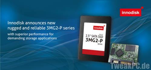 Innodisk 3MG2-P: SSD-Serie mit bis zu 1 TB für professionelle Anwender
