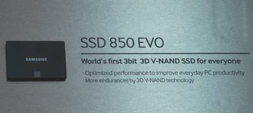 Samsung 850 EVO: Erste Details zur kommenden SSD-Serie geleaked
