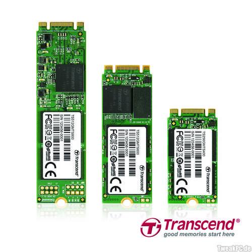 Transcend: M.2-SSD mit bis zu 512 GB Speicherplatz angekündigt
