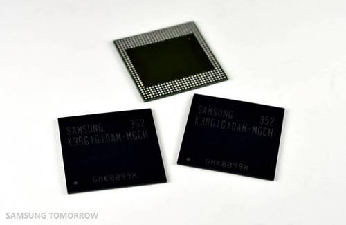 Samsung präsentiert 4-GB-LPDDR4-RAM-Module