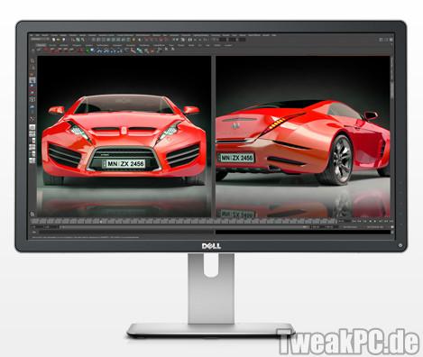 Ultra-HD: Dell zeigt 4k-Monitore mit 24 und 27 Zoll
