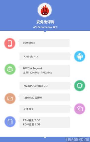 Asus Gamebox: Konkurrenz für Nvidias Shield geplant?