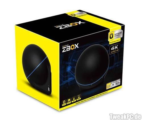Zotac ZBox Sphere: Stromsparender, kleiner Kugel-PC vorgestellt