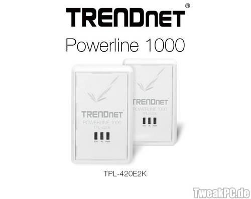 Trendnet: Gigbit-Powerline mit MIMO-Technik angekündigt
