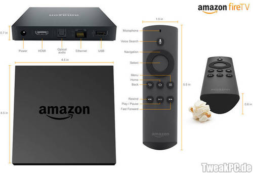 Amazon Fire TV wieder im Angebot für 84 Euro