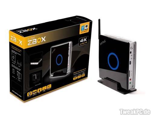 ZOTAC: Neue ZBOX-Mini-PCs auf Haswell-Basis vorgestellt