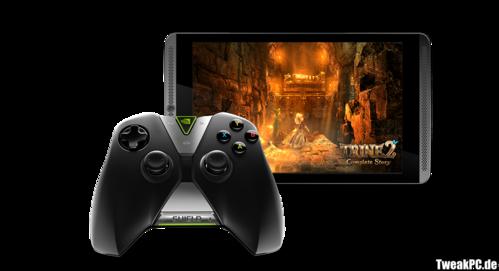 Black Friday: Nvidia schenkt Käufern eines Shield-Tablets den Shield-Controller