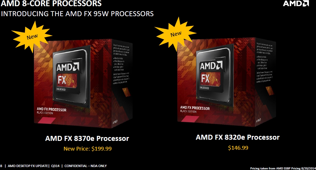 Test AMD FX 8370E