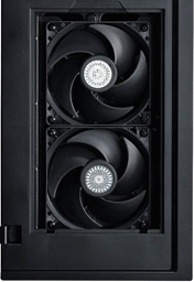 cooler master sliencio 652s im test l fter laust rke 5 6. Black Bedroom Furniture Sets. Home Design Ideas