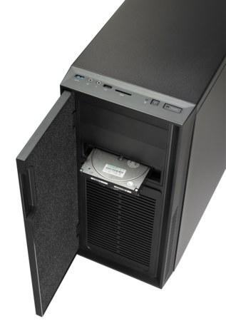 cooler master silencio 550 test leiser ged mmter midi tower fazit 5 5. Black Bedroom Furniture Sets. Home Design Ideas