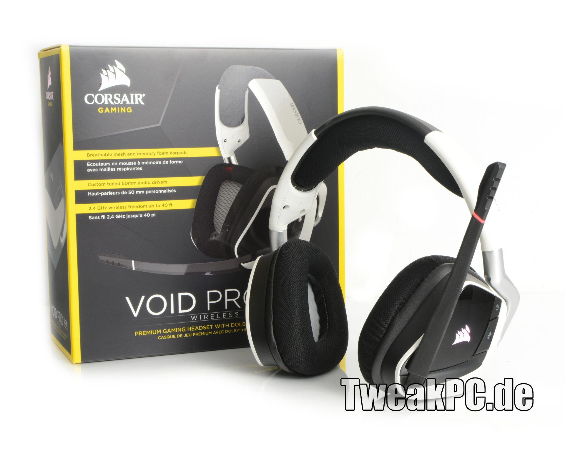 df4a92f62aa Corsair VOID PRO RGB Wireless Gaming-Headset im Test