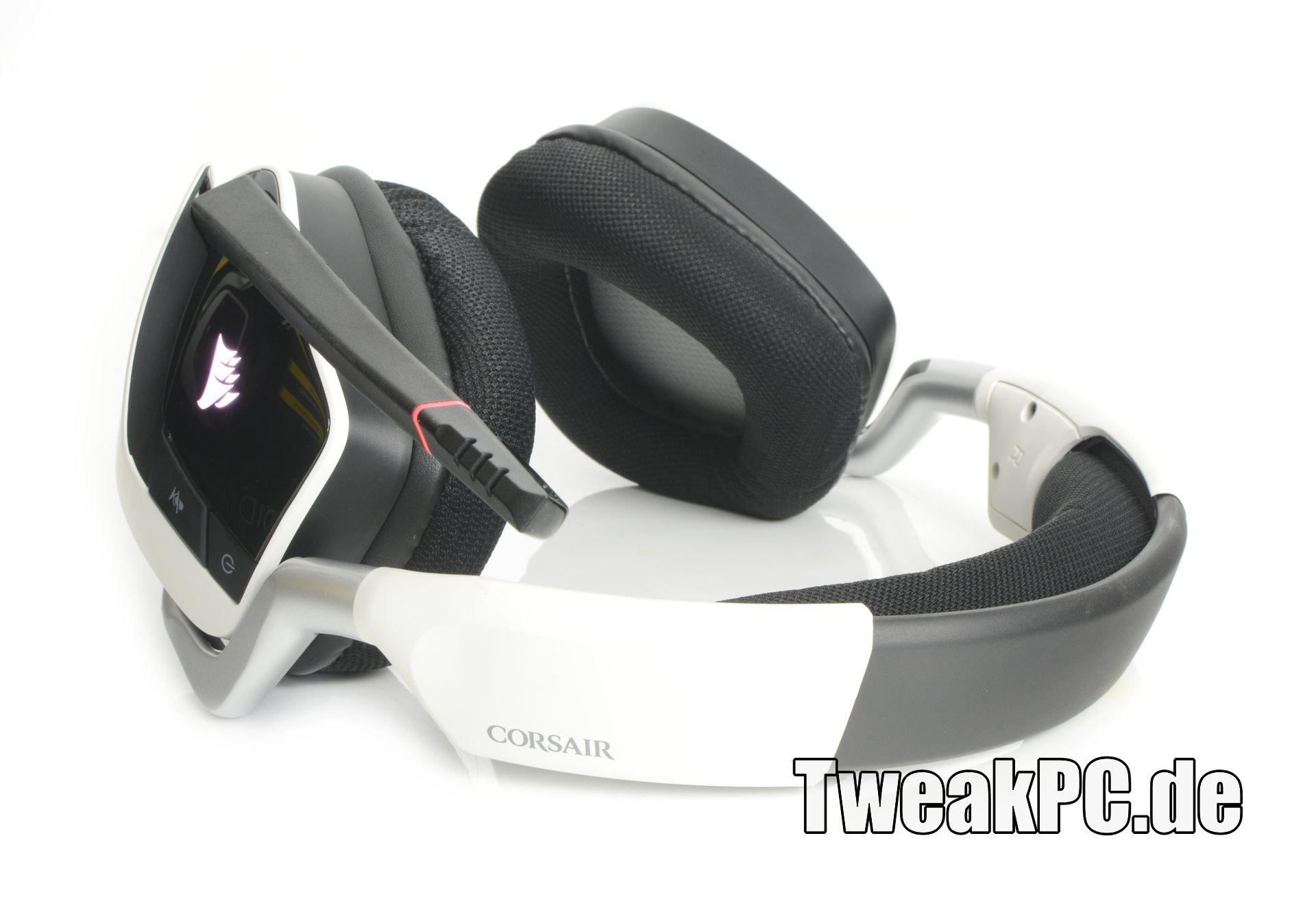 corsair void pro rgb wireless gaming headset im test. Black Bedroom Furniture Sets. Home Design Ideas