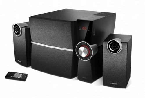 test edifier c2xd 2 1 speaker system mit verst rker. Black Bedroom Furniture Sets. Home Design Ideas
