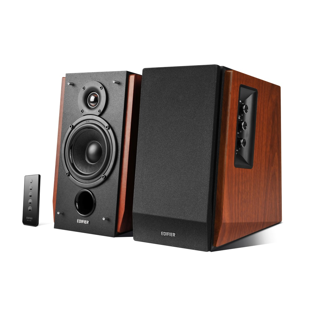 edifier r1700bt 2 0 bluetooth boxen f r pc und smartphone im test. Black Bedroom Furniture Sets. Home Design Ideas