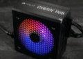Bild: Test: Corsair CX-F RGB - Corsairs erstes RGB-Netzteil mit Effizienz-Understatement