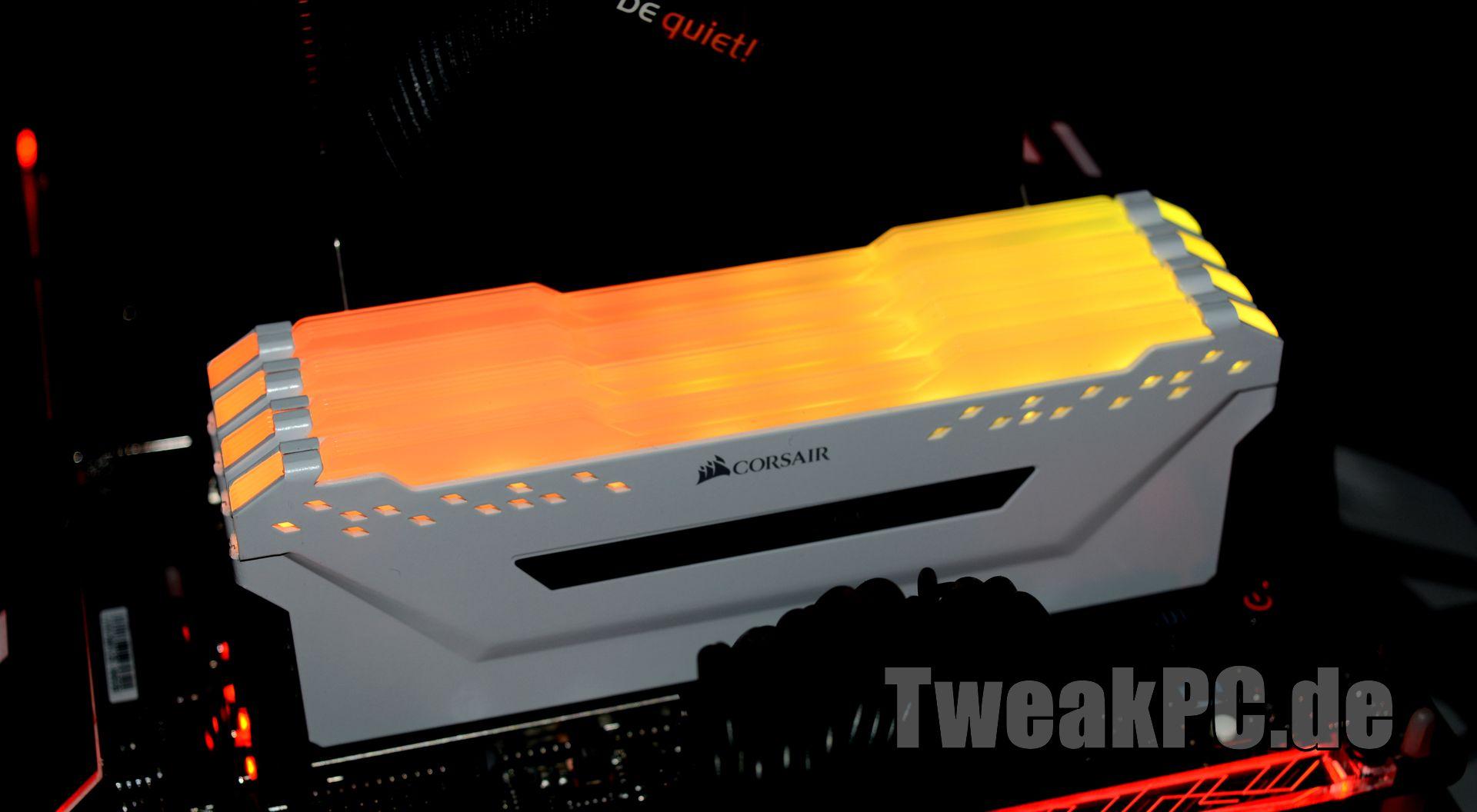 Corsair Vengeance RGB PRO im Test - jetzt mit Multi-Zone-RGB