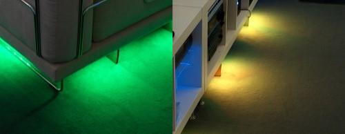 revoltec backlight led ambiente beleuchtung fazit 3 3. Black Bedroom Furniture Sets. Home Design Ideas