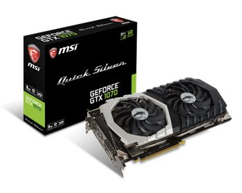 Bild: GEFORCE® GTX 1070 QUICK SILVER 8G OC