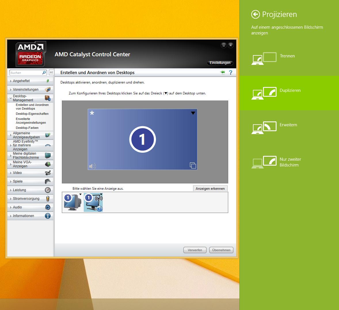 AMD Wireless Display am Desktop-PC nutzen