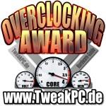AMD Athlon II X4 620 Overclocking Award