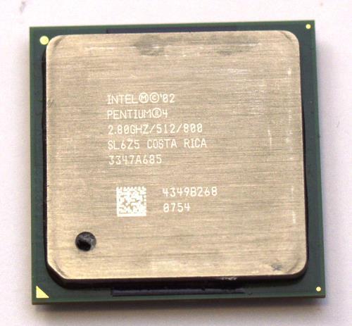 S478 INTEL PENTIUM 4 2,80Ghz Hyper-Threading  SL6Z5